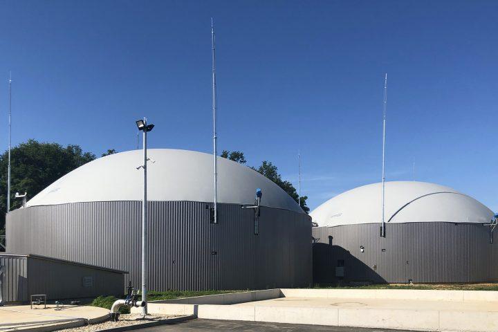"Kogeneracija na bioplin ""Bioplinsko postrojenje Pisarovina 1200 kWel"""