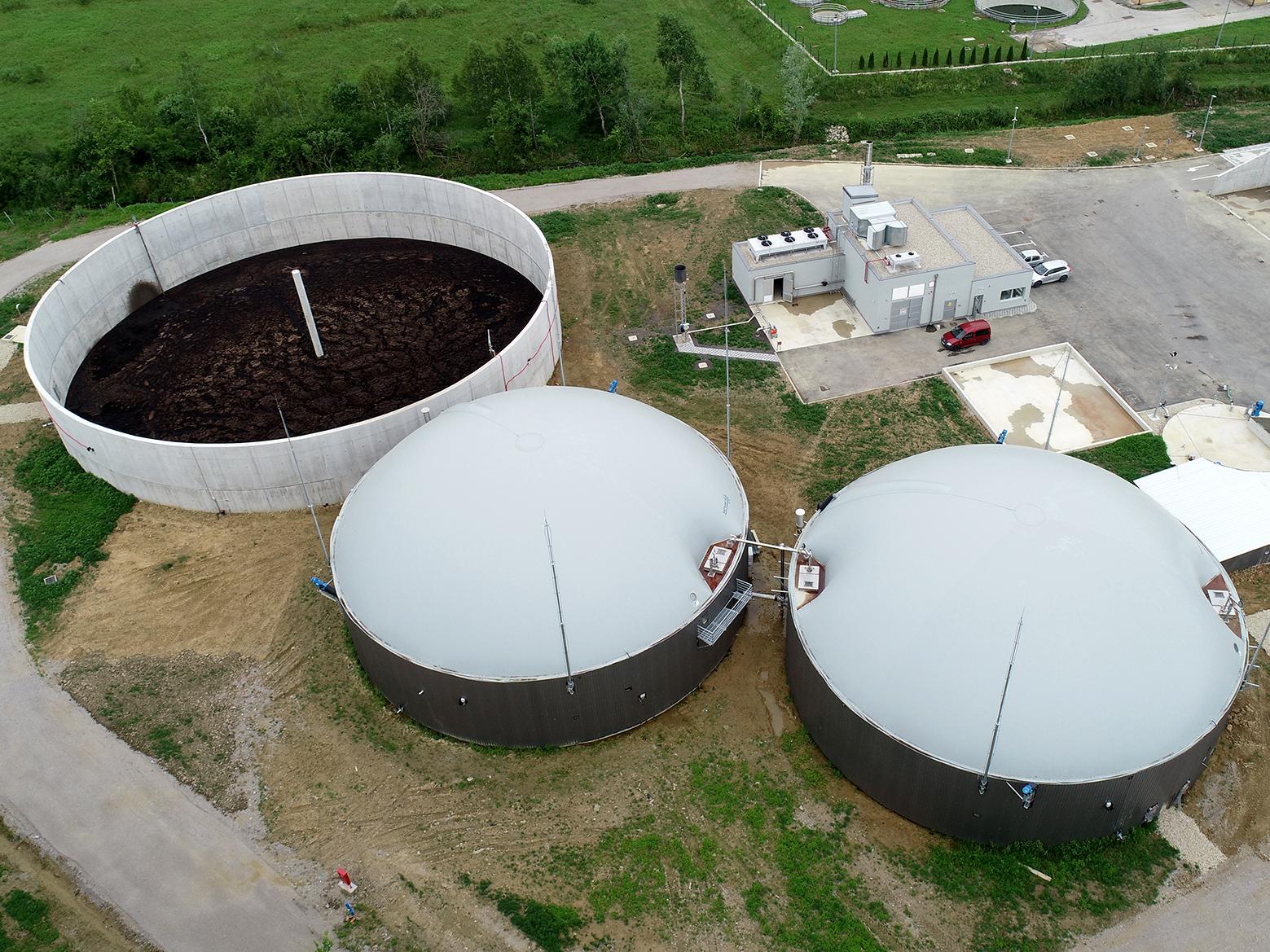 Postrojenje na bioplin u Pisarovini