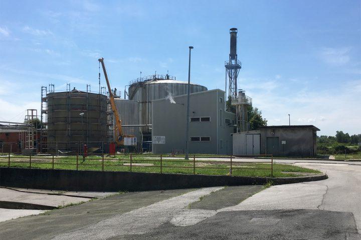 Egalizacijsko postrojenje u tvornici kvasca