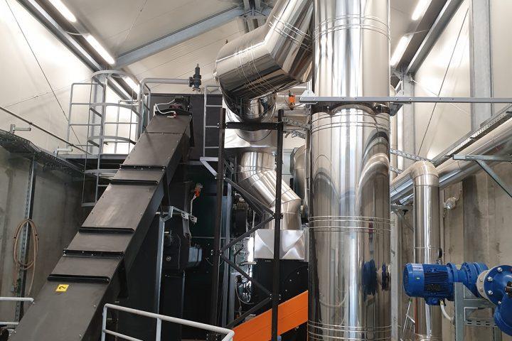 Kotlovnica na biomasu toplinske snage 2 MW
